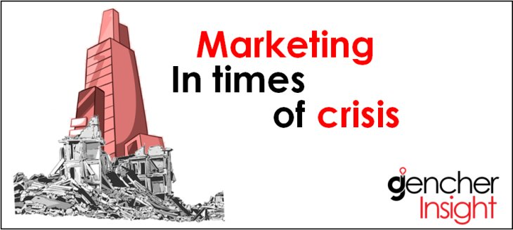 Marketing in times of crisis; a counter intuitive point of view