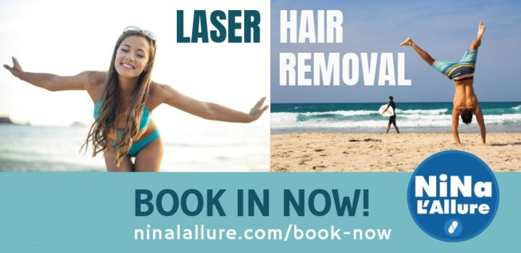 Nina L'Allure promises Hygienic Laser Hair Removal during Covid-19