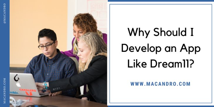 Why should I develop an app like Dream11?