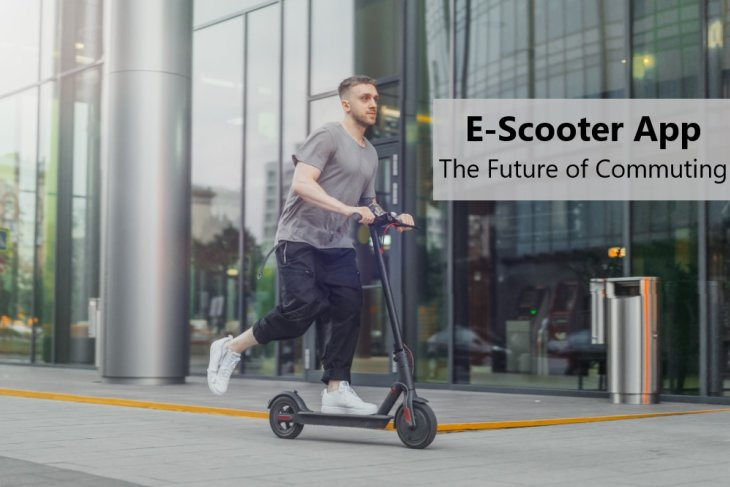 E-scooter App – The Future of Commuting