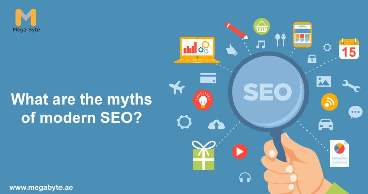 What are the myths of modern SEO?