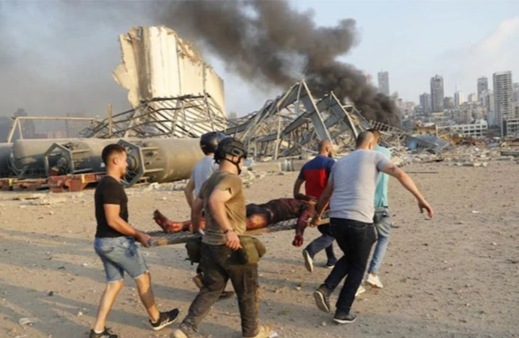 78 killed in Beirut blasts so far, more than four thousand injured
