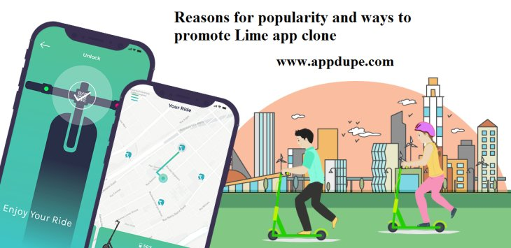 Reasons for popularity and ways to promote Lime app clone