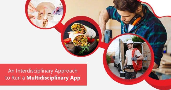 An Interdisciplinary Approach to Run a Multidisciplinary App