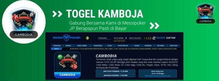 Togel Kamboja