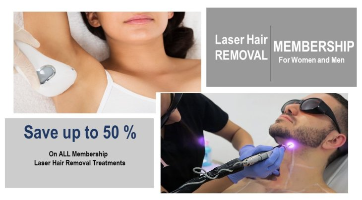Simple Affordable and Easy Laser Hair Removal Membership