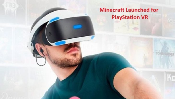 Minecraft Launched for PlayStation VR