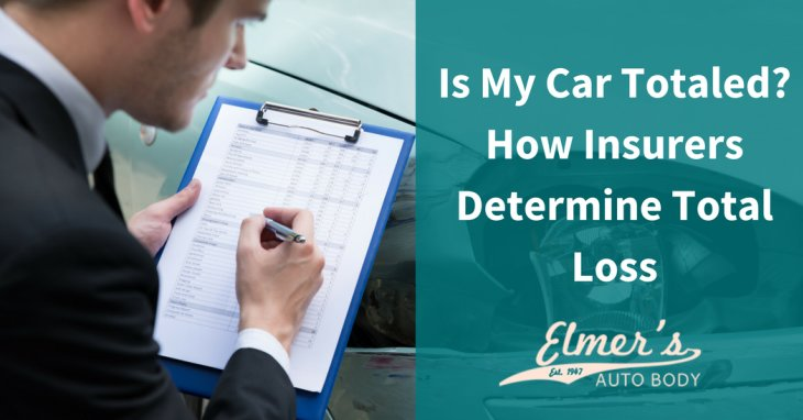 Is My Car Totaled? How Insurers Determine Total Loss