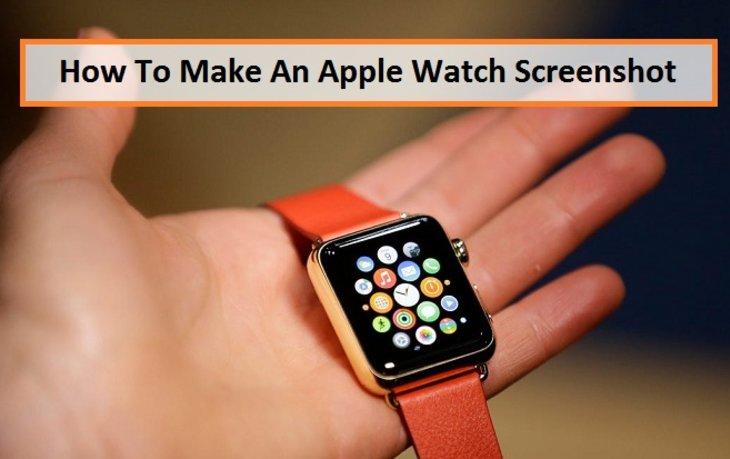 How To Make An Apple Watch Screenshot