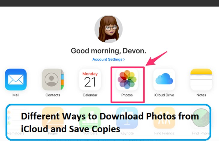 Different Ways to Download Photos from iCloud and Save Copies