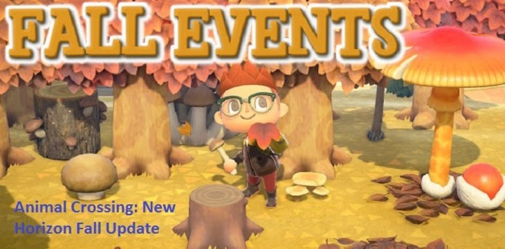 Animal Crossing: New Horizon Fall Update