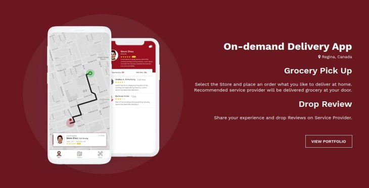 On-demand Grocery App Development Company in Oman