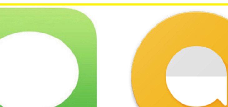 iMessage vs. Google Allo
