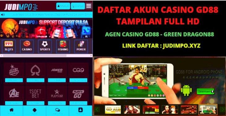 Daftar Agen Casino GD88 Terpercaya, Situs Login GD88 Dan Link Alternatif GD88