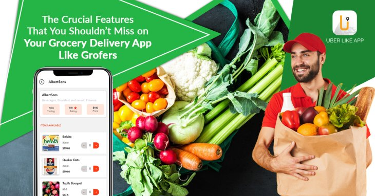 The crucial features that you shouldn't miss on your grocery delivery app