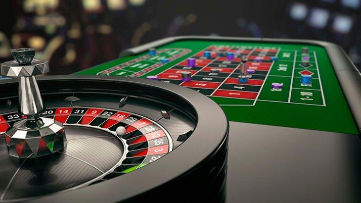 Casinon i Las Vegas och roulette