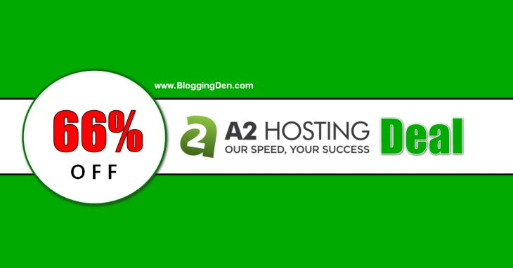 A2Hosting Coupon 2020: Get 66% Discount + One Free Domain Name