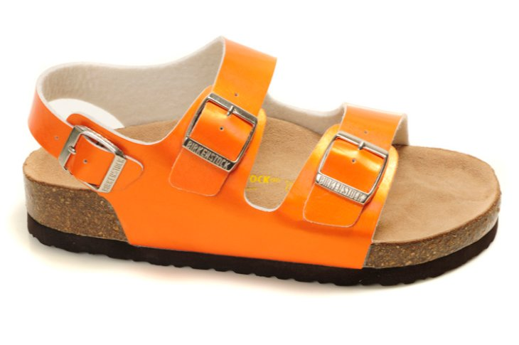 initial birkenstock delicate footbed shoe