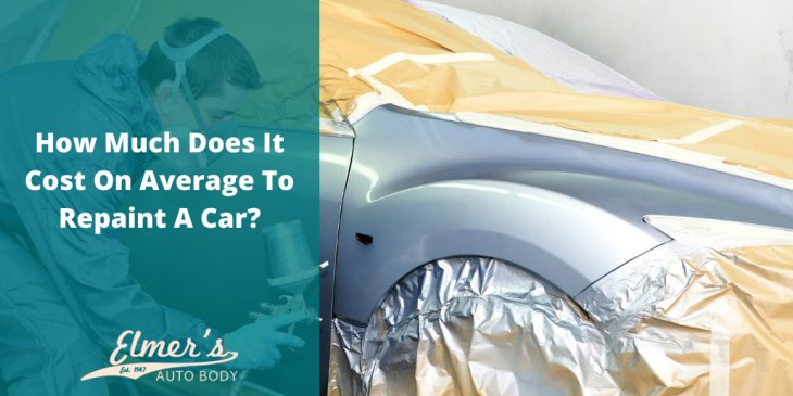 How Much Does It Cost On Average To Repaint A Car?