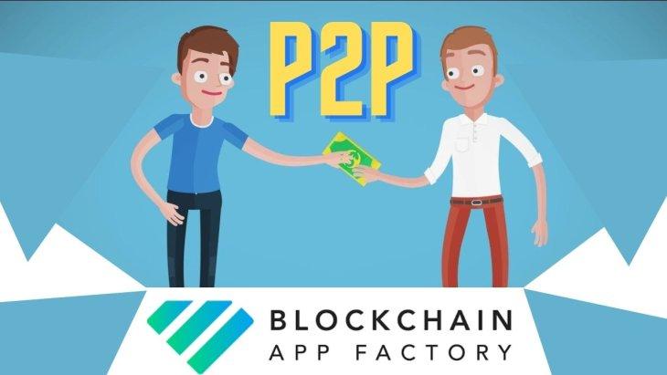 P2P lending blockchain solution acts as a virtual marketplace