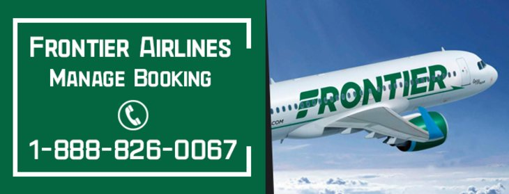 How do I Manage my flight on Frontier Airlines?