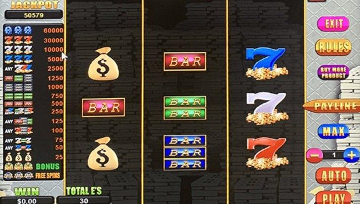 Mr. Money Bags - Sweepstakes Machine, Slot Game Shop - El Paso Texas