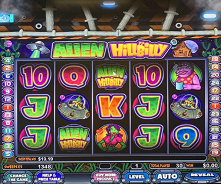 Alien Hillbilly - Sweepstakes Machine, Slot Game Shop - El Paso Texas