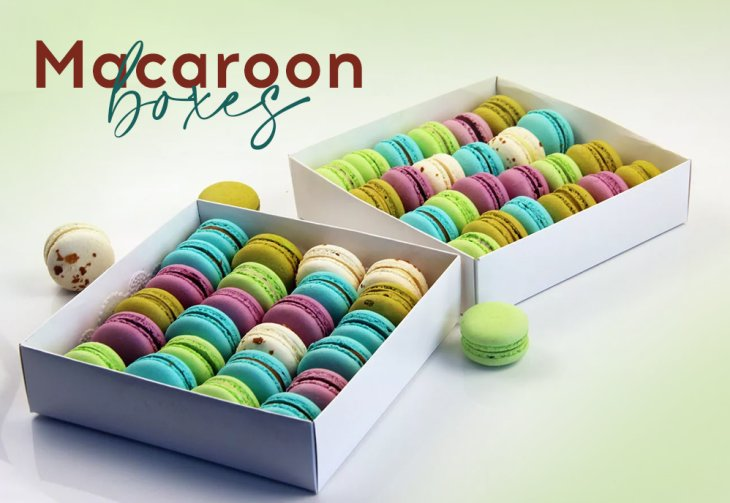 Sweet And Delicious Macarons Have To Be In Delightful Macaron Boxes