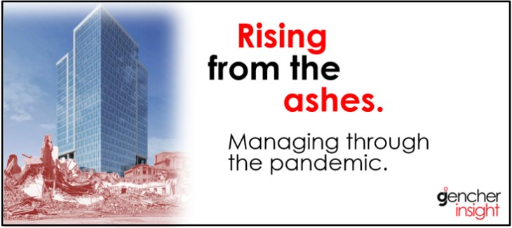 Rising from the ashes: Managing through the pandemic.