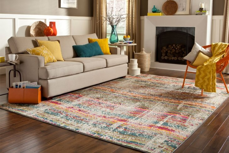 Is your rug feeling the family at home all day every day?