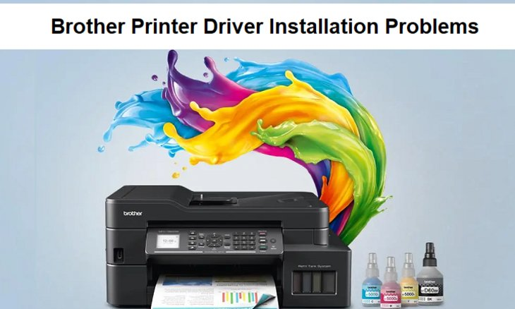 How to $olve Brother Printer Driver Installation Problems - USA