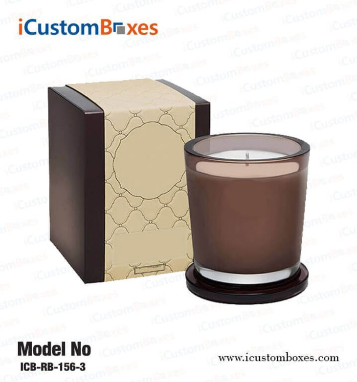 Eye-Catching Customized Candle Printed Boxes