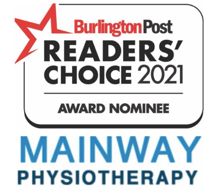 Mainway Physiotherapy is Nominated for a Readers Choice Award Again!