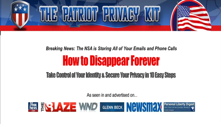 Patriot Privacy Kit | Secrets For Securing You and Your Family's Privacy 24*7!