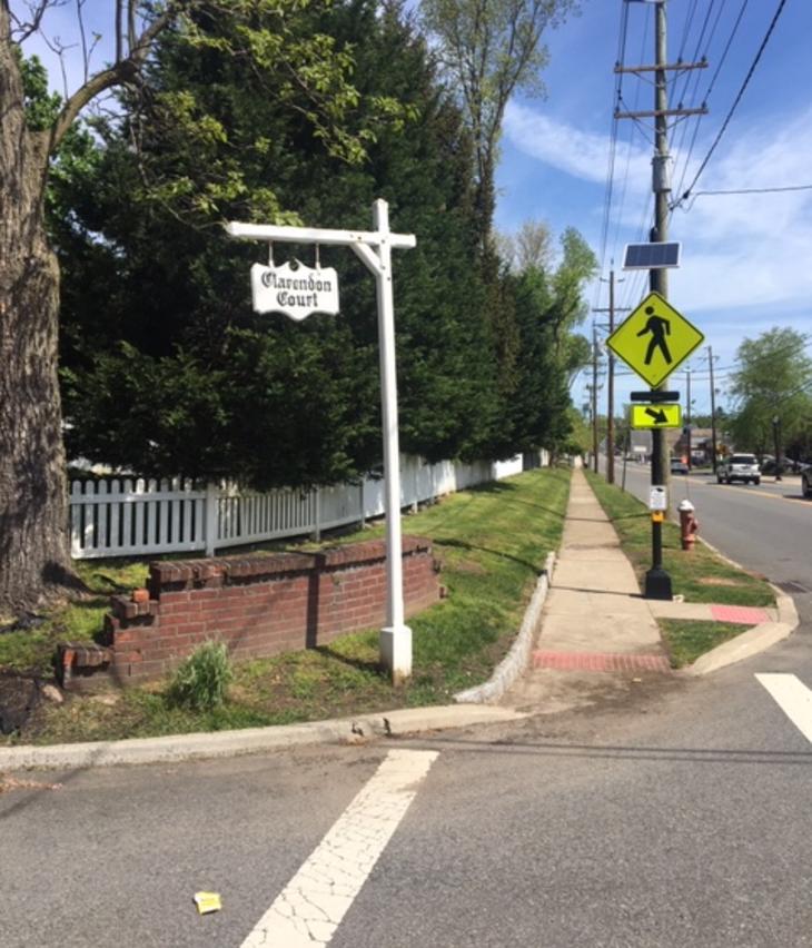 Uniquely River Edge: Clarendon Court Signs