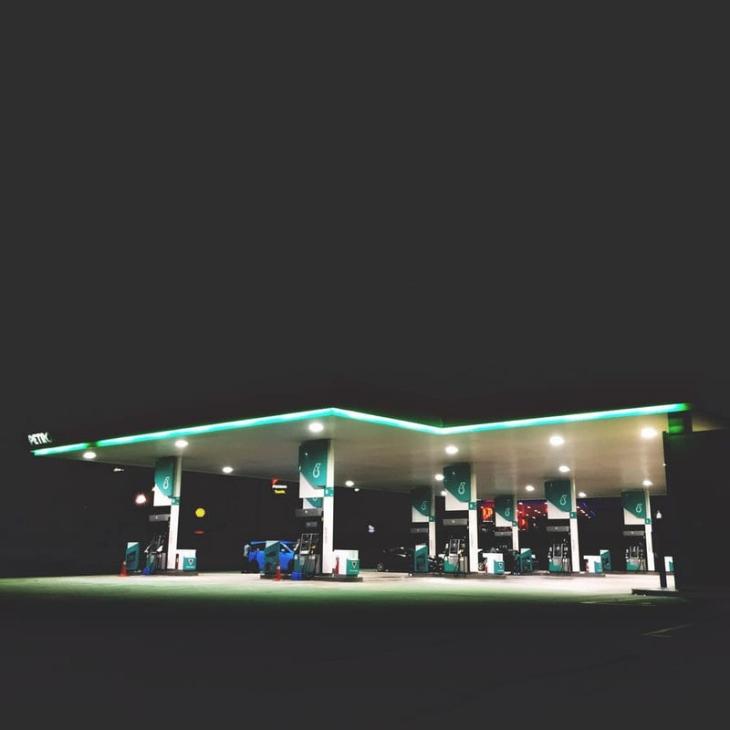 Gas Station Advertisement