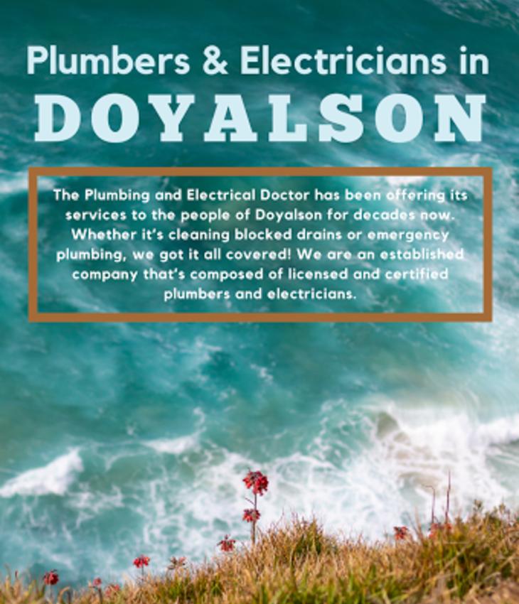 Plumber in Doyalson