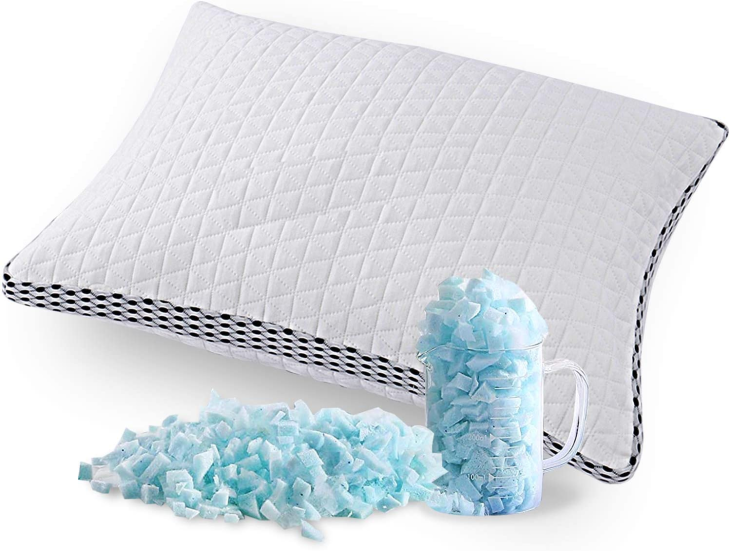 Soft, touch-friendly bamboo pillow