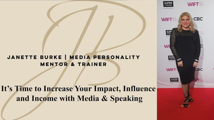 It's Time to Increase Your Impact, Influence and Income with Media & Speaking