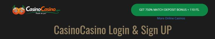 The most popular online casino - casino login