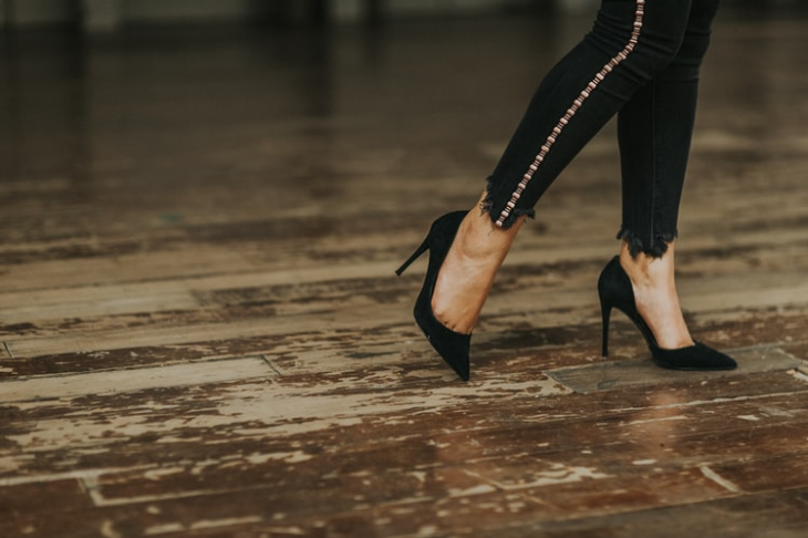 Tips for Walking in Heels All Day