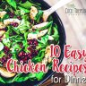 Need a quick meal for dinner that the family will love? Of course, we all need it. These easy chicken recipes for dinner can be prepared in an hour or less!