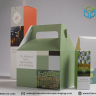 The purpose of packaging boxes is transformed over time.