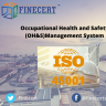 ISO 45001 deals with Occupational Health and Safety Management System.