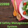 ISO 22000 deals with Food Safety Management System