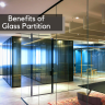The glass partition concept is becoming more popular in India because of its design and effective partition.