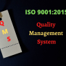 ISO 9001 is the Quality Management System standard set up by ISO.