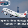 If you have any specific query or question related to your flight ticket  you can contact Japan Airlines Manage Booking Number +1–844-868-8303