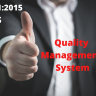 ISO 9001 deals with Quality Management System.