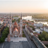 Szeged, a city in Hungary is one of the biggest cities of the country and borders Romania and Serbia in a few parts.